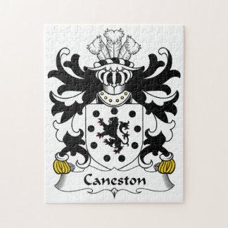 Escudo de la familia de Caneston Rompecabeza