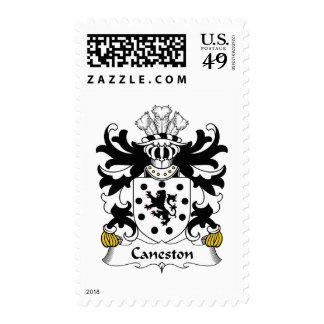 Escudo de la familia de Caneston Sello