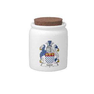 Escudo de la familia de Cann Jarras Para Caramelos