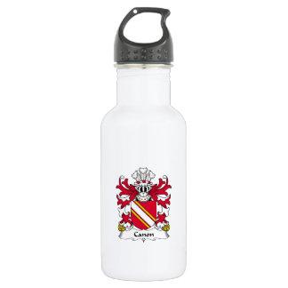 Escudo de la familia de Canon Botella De Agua