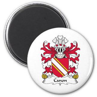 Escudo de la familia de Canon Iman Para Frigorífico