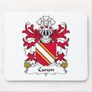 Escudo de la familia de Canon Tapetes De Ratones