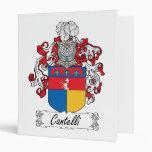 Escudo de la familia de Cantelli