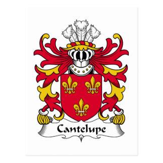 Escudo de la familia de Cantelupe Postal