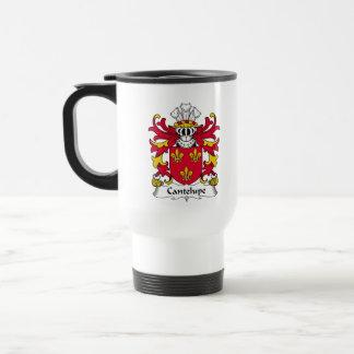 Escudo de la familia de Cantelupe Taza De Café
