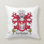 Escudo de la familia de Cantington Cojines