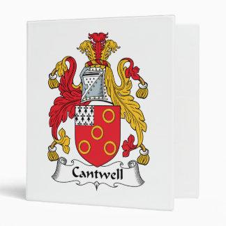 Escudo de la familia de Cantwell