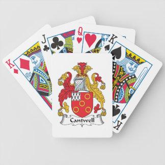 Escudo de la familia de Cantwell Barajas