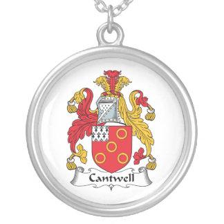 Escudo de la familia de Cantwell Collar Personalizado