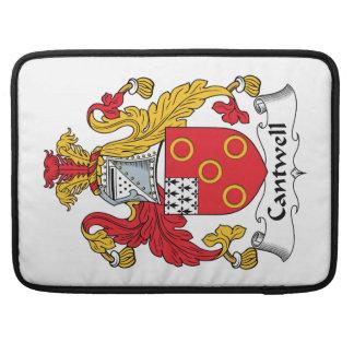 Escudo de la familia de Cantwell Fundas Para Macbook Pro
