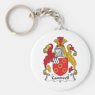 Escudo de la familia de Cantwell Llavero