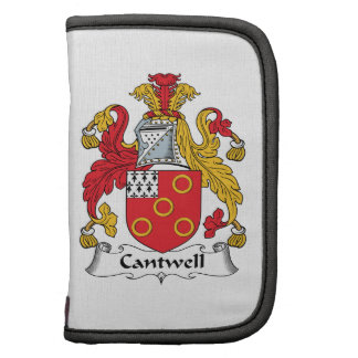 Escudo de la familia de Cantwell Organizador