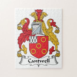 Escudo de la familia de Cantwell Puzzle Con Fotos