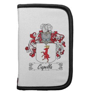 Escudo de la familia de Capella Planificador