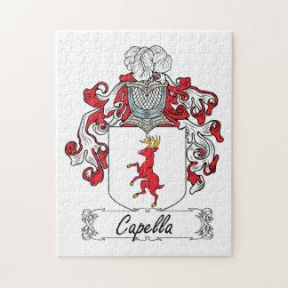 Escudo de la familia de Capella Puzzle