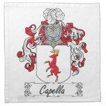 Escudo de la familia de Capella Servilleta De Papel