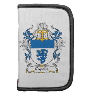 Escudo de la familia de Capelle Organizador