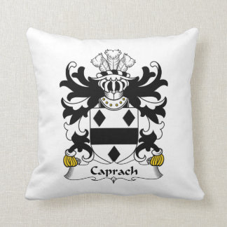 Escudo de la familia de Caprach Almohadas