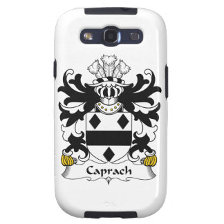 Escudo de la familia de Caprach Galaxy S3 Cárcasa