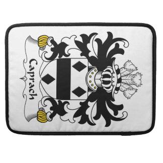 Escudo de la familia de Caprach Fundas Para Macbook Pro