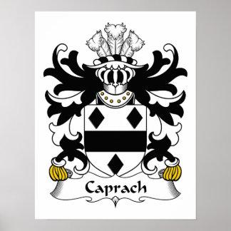 Escudo de la familia de Caprach Poster