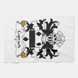 Escudo de la familia de Caprach Toalla