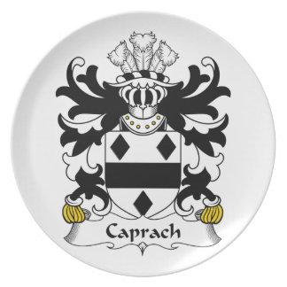 Escudo de la familia de Caprach Plato