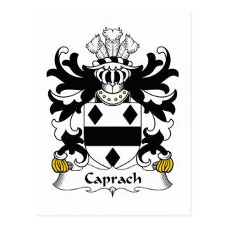Escudo de la familia de Caprach Postales