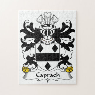 Escudo de la familia de Caprach Rompecabezas Con Fotos