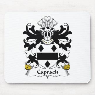 Escudo de la familia de Caprach Alfombrillas De Ratón