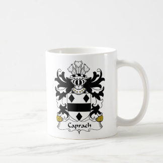 Escudo de la familia de Caprach Taza De Café