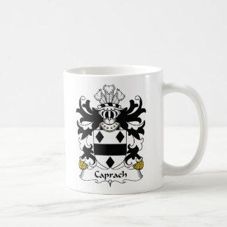 Escudo de la familia de Caprach Taza Básica Blanca