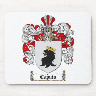 ESCUDO DE LA FAMILIA DE CAPUTO - ESCUDO DE ARMAS TAPETES DE RATONES
