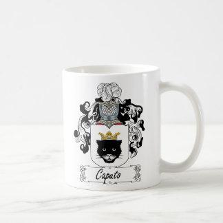 Escudo de la familia de Caputo Taza