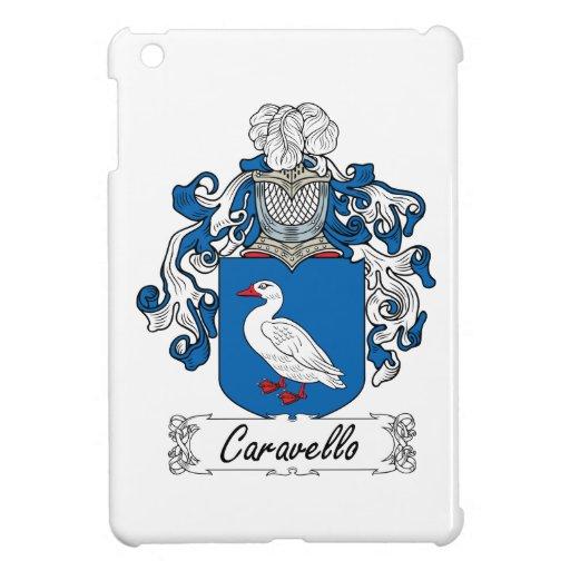 Escudo de la familia de Caravello iPad Mini Cárcasas