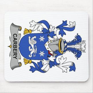 Escudo de la familia de Carbery Tapetes De Raton