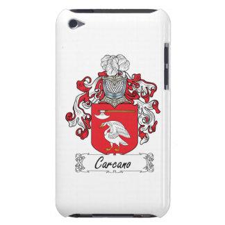 Escudo de la familia de Carcano Barely There iPod Cárcasa