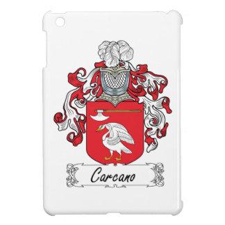 Escudo de la familia de Carcano iPad Mini Protector