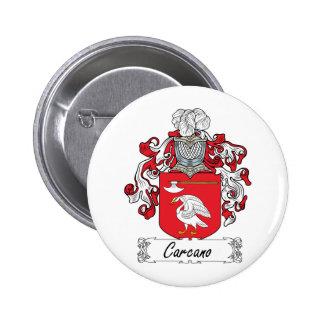 Escudo de la familia de Carcano Pins