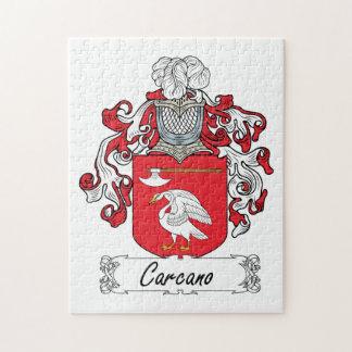 Escudo de la familia de Carcano Puzzle