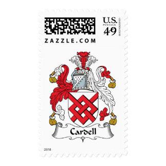 Escudo de la familia de Cardell Sello