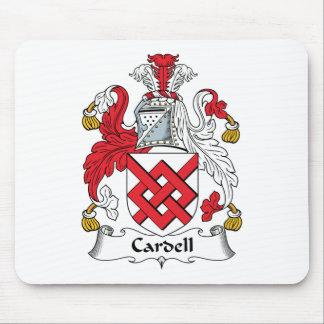 Escudo de la familia de Cardell Alfombrillas De Ratones