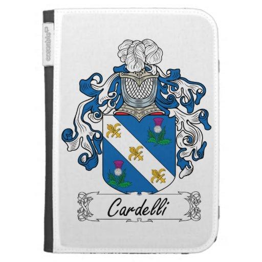 Escudo de la familia de Cardelli