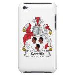 Escudo de la familia de Cardiffe iPod Touch Protector