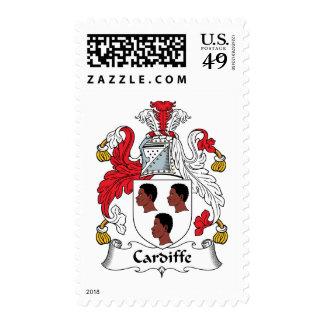 Escudo de la familia de Cardiffe Sellos