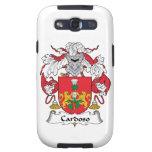 Escudo de la familia de Cardoso Galaxy S3 Carcasa