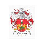 Escudo de la familia de Cardoso Impresiones En Lona