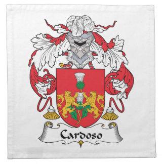 Escudo de la familia de Cardoso Servilletas