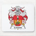 Escudo de la familia de Cardoso Tapetes De Raton