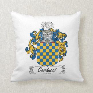 Escudo de la familia de Carducci Cojin